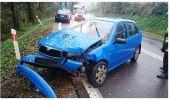 Skoda w rowie. Kolejna kolizja drogowa w Domaradzu