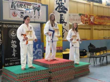 Sukcesy ligowe małych, brzozowskich karateków