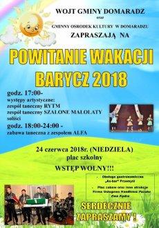 Powitanie wakacji 2018 Barycz