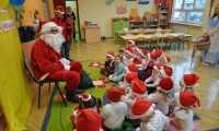 Święty Mikołaj w Przedszkolu Miejskim w Dynowie