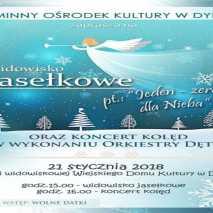 """""""Jeden -zero dla Nieba"""" czyli jasełka i koncert kolęd w Dydni"""
