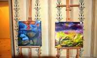 Wernisaż wystawy malarstwa Tadeusza Masłyka z Górek. Dwór w Kombornii 2017