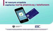 W Urzędzie Gminy w Domaradzu można płacić kartą płatniczą i telefonem