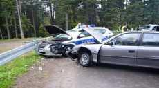 Wypadek drogowy na serpentynach powyżej Przysietnicy