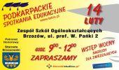 Podkarpackie Spotkania Edukacyjne. Zespół Szkół Ogólnokształcących w Brzozowie.