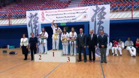 Trzy brązowe medale brzozowskich karateków na Mistrzostwach Makroregionu