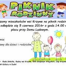 Piknik Rodzinny w Krzywem