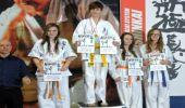 Podkarpacka Liga Shinkyokushin - finały. 7 medali młodych karateków z Brzozowa