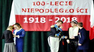 100. rocznica Odzyskania przez Polskę Niepodległości  w ZSZ w Dynowie