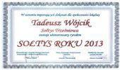 Tadeusz Wójcik z Trześniowa - sołtysem 2013 roku