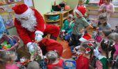 """Wizyta """"św. Mikołaja"""" w Przedszkolu Miejskim w Dynowie"""