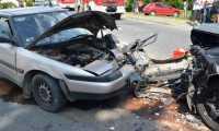 Wypadek drogowy w Humniskach