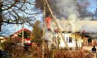 Pożar budynku mieszkalnego w Turzym Polu