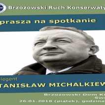 Stanisław Michalkiewicz w Brzozowie