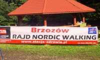 I rajd Nordic Walking w Brzozowie