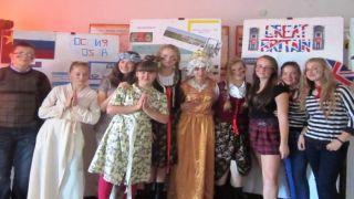 Europejski Dzień Języków w Gimnazjum w  Orzechówce