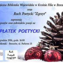 """III płatek poetycki Ruchu Poetyckiego """"Zgrzyt"""" w Brzozowie"""
