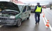 Zderzenie MANA z Fiatem Doblo na W-886 w Bliznem