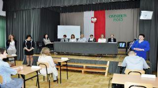 """VII edycja konkursu """"Omnibus 2015"""" w Zespole Szkół Zawodowych w Dynowie  """"OMNIBUS 2015 """"."""