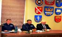 Odprawa roczna w Brzozowskiej Policji (13.02.2018 r. )