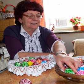 Krystyna Targowska  - pisankarka z Niebocka