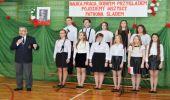 Uroczyste obchody Dnia Patrona Szkoły Podstawowej w Trześniowie.