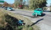 Wypadek w Baryczy – ranny motocyklista