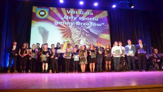 """VIII Gala """"Orły Sportu Gminy Brzozów"""""""