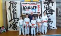 5 medali brzozowskich karateków podczas Podkarpackiej Ligi Dzieci i Młodzieży  Shinkyokushin.