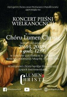 Koncert Chóru Lumen Christi
