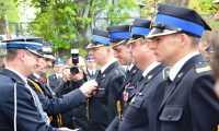Świętowali brzozowscy strażacy z Państwowej Straży Pożarnej