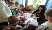 Spotkania autorskie z Elżbietą Bednarczyk w Zespole Szkół w Warze
