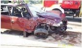 Wypadek z udziałem trzech pojazdów w Starej Wsi