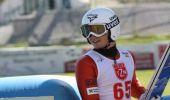 Adam Ruda z Dydni - wicemistrzem Polski w skokach narciarskich
