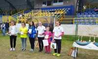 Złoty medal Ewy Janochy łuczniczki Sagit na zawodach z Zabierzowie