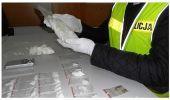 Policjanci zabezpieczyli znaczną ilość metaamfetaminy