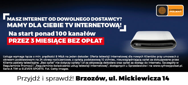 plus polsat Brzozów
