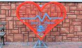 Kolejne serce na  nakrętki plastikowe w gminie Dydnia.
