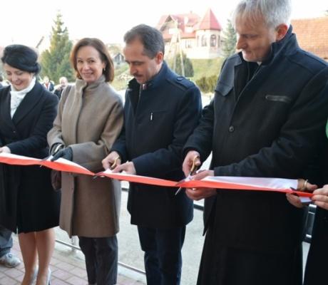 Jabłonka. Uroczyste otwarcie pierwszego w regionie Klubu Senior+