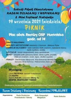 Mini Festiwal Naleśnika. Humniska 2021