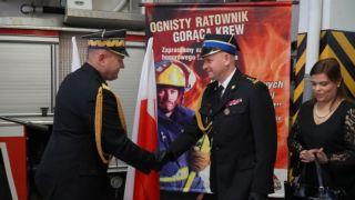 Zmiana na stanowisku Komendanta Powiatowego Państwowej Straży Pożarnej w Brzozowie
