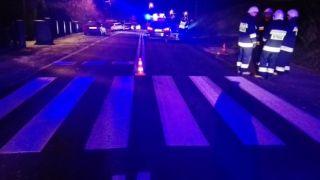 Kobieta potrącona na przejściu dla pieszych w Humniskach - zmarła w szpitalu