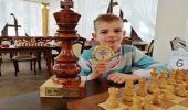 Pawełek Sowiński 9 letni szachista z Humnisk zwycięzca Mistrzostw Polski Młodzików - zagra  na mistrzostwach świata w Chinach