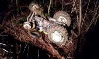 Śmiertelny wypadek w lesie w Haczowie