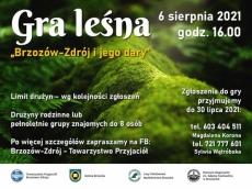 """""""Brzozów Zdrój i jego dary"""". Gra terenowa"""""""