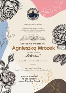 Spotkanie autorskie z Agnieszką Mrozek