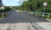 Most nad Golcówką na drodze Domaradz – Podhyb przywrócony do użytku