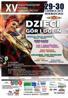 "XV Festiwal ""Dzieci Gór i Dolin"""
