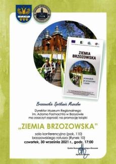 """""""Ziemia  Brzozowska"""" promocja książki"""