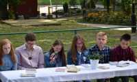 Narodowe Czytanie - ośmiu polskich nowel w Parku Jordanowskim w Brzozowie